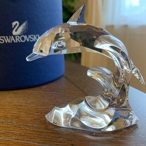 Swarovski Figurine- Dolphin (large)